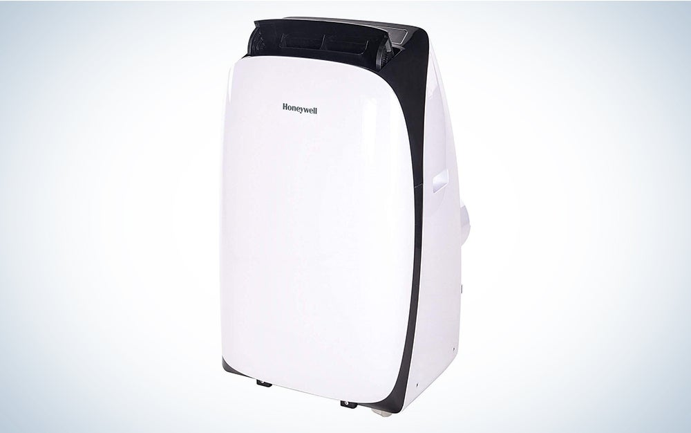 Honeywell HL09CESWK Portable Air Conditioner, 9,000 BTU Cooling, with Dehumidifier & Fan is the best Honeywell portable air conditioner that you can buy.