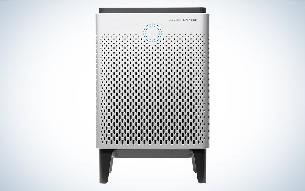Coway Airmega 400 Smart Air Purifier with 1,560 sq. ft. Coverage is one of the best air purifier options on the market.