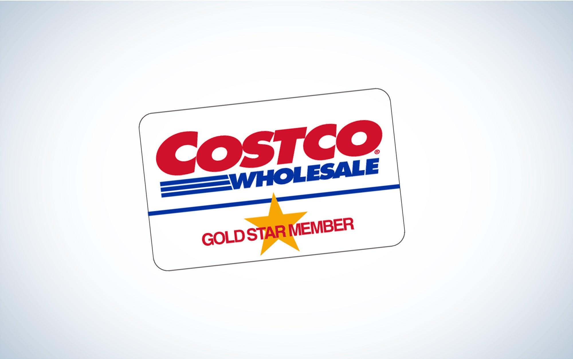 a Costco membership card