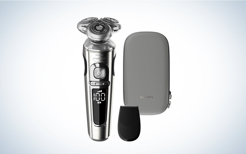 Philips Norelco SP9820/87 Shaver 9000 Prestige is the best electric razor for men.