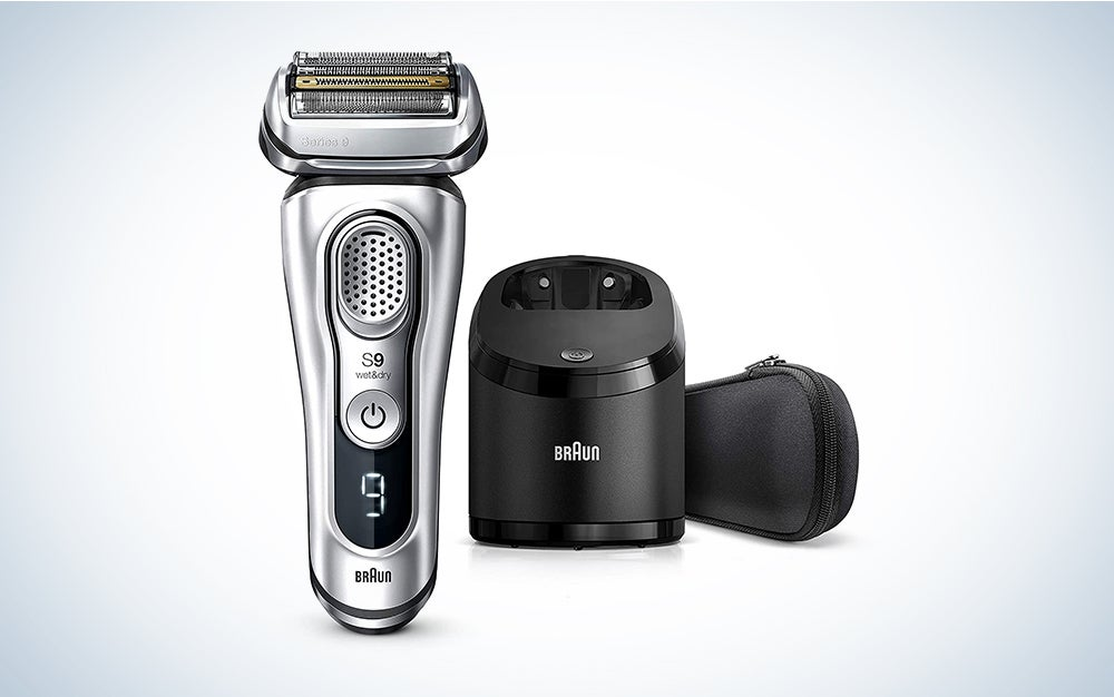 Braun Electric Razor for Men, Series 9 9370cc Electric Shaver