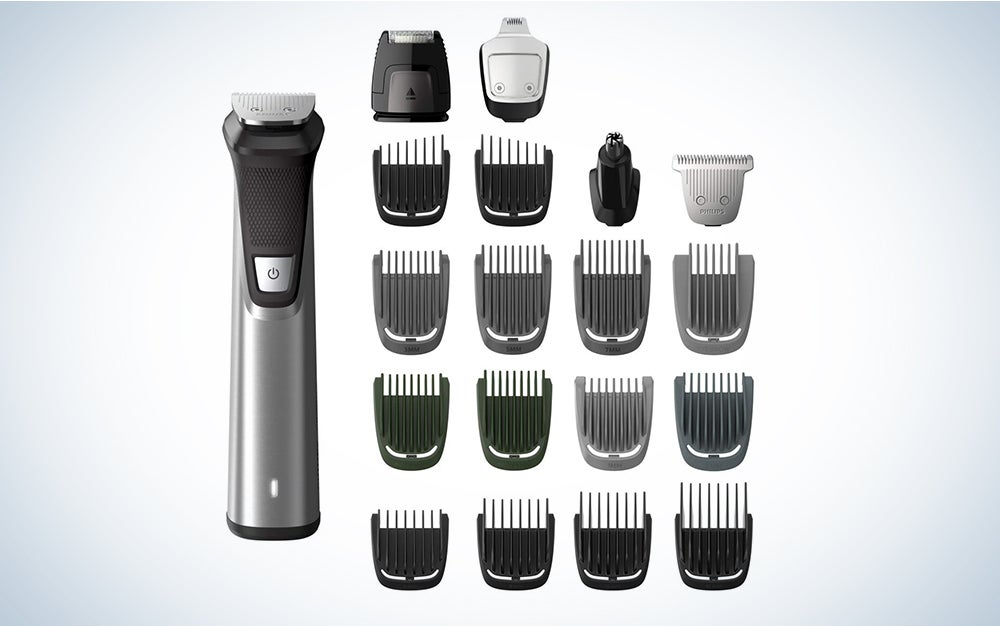 Philips Norelco MG7750/49 Multigroom Series 7000 is one of the best electric shavers.