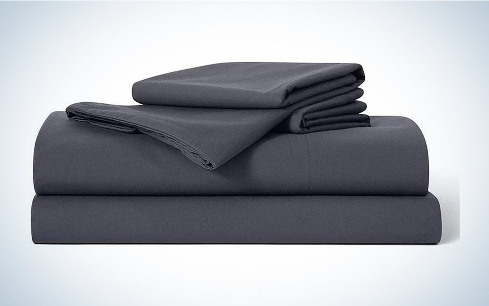 Brooklinen Luxe Core Sheet Set are the best high thread count sheets.