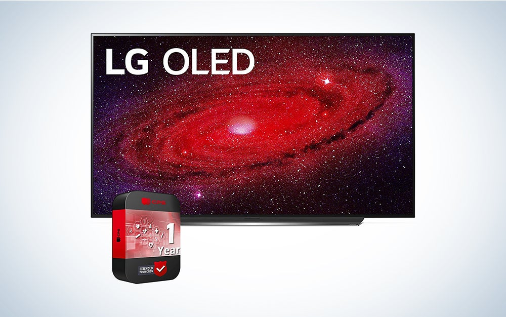 LG OLED CX 4K is the best smart TV.