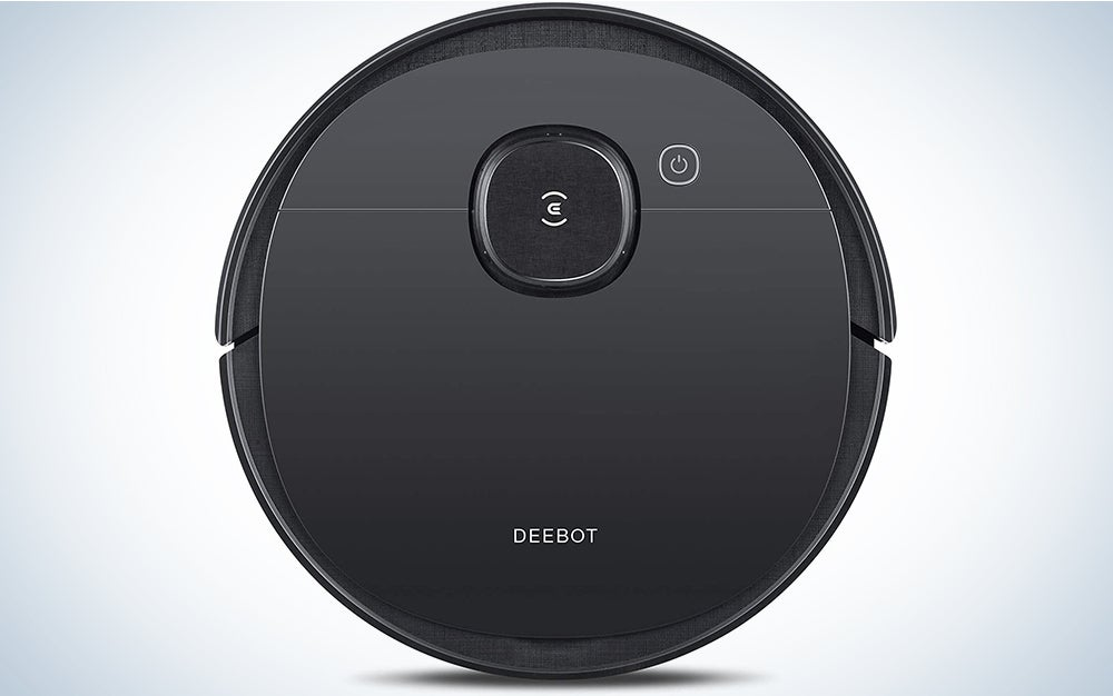 ECOVACS DEEBOT OZMO T5 2-in-1 Robot Vacuum & Mop with Precision Laser Mapping & Navigation, 3+ Hours of Runtime, High Efficiency Filter Ideal for Pet Hair, Advanced Custom Cleaning is a great robot vacuum cleaner.