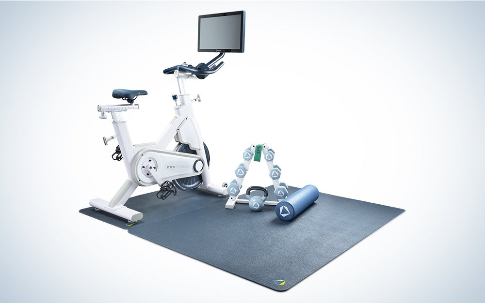 The MYX Bike is one of the best exercise bikes for home workouts.