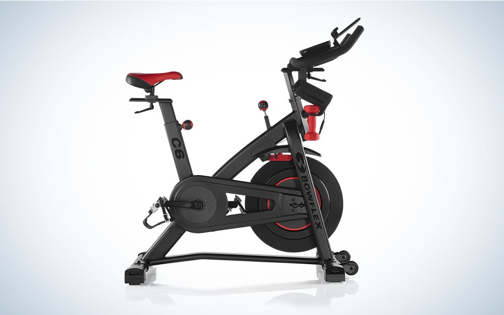 Bowflex C6 Bike is the best exercise bike for personalized workouts.