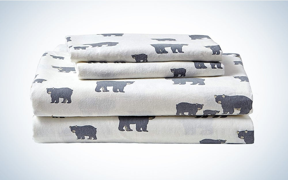 Eddie Bauer - Flannel Collection include sets of the best flannel sheets.