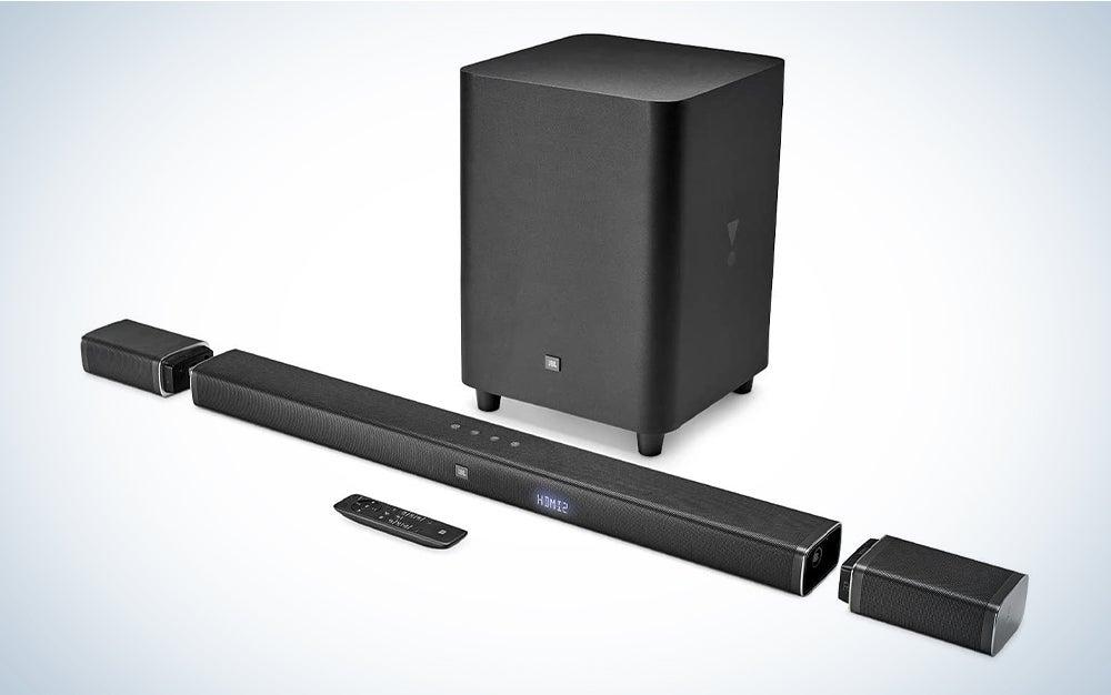 JBL Bar 5.1 sound system.