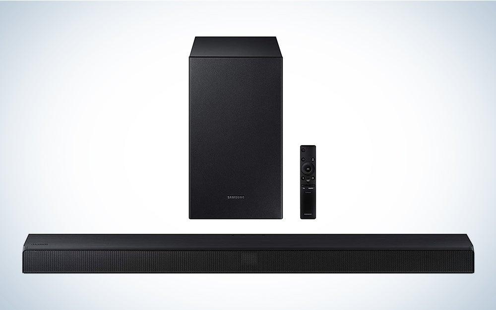 Samsung HW-T550 2.1ch Soundbar home entertainment equipment.