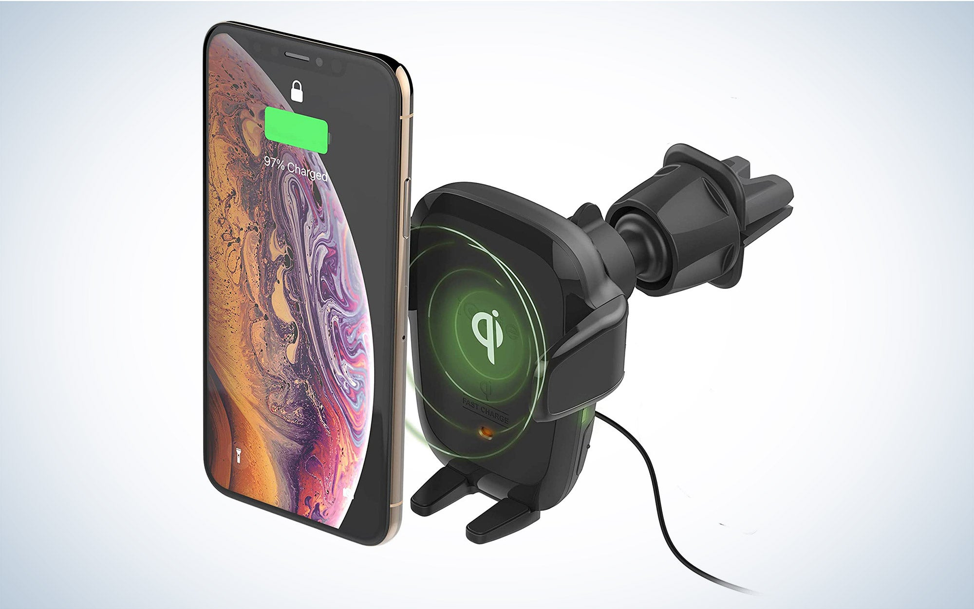 car phone charger holder