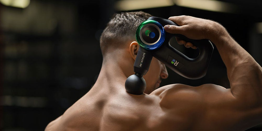 DEEP4s: Percussive Therapy Massage Gun for Athletes