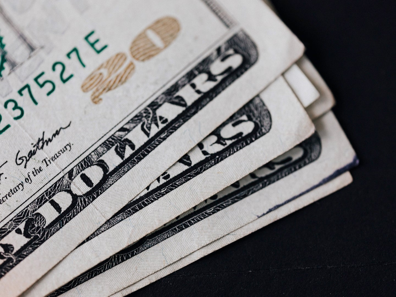 a pile of $20 bills