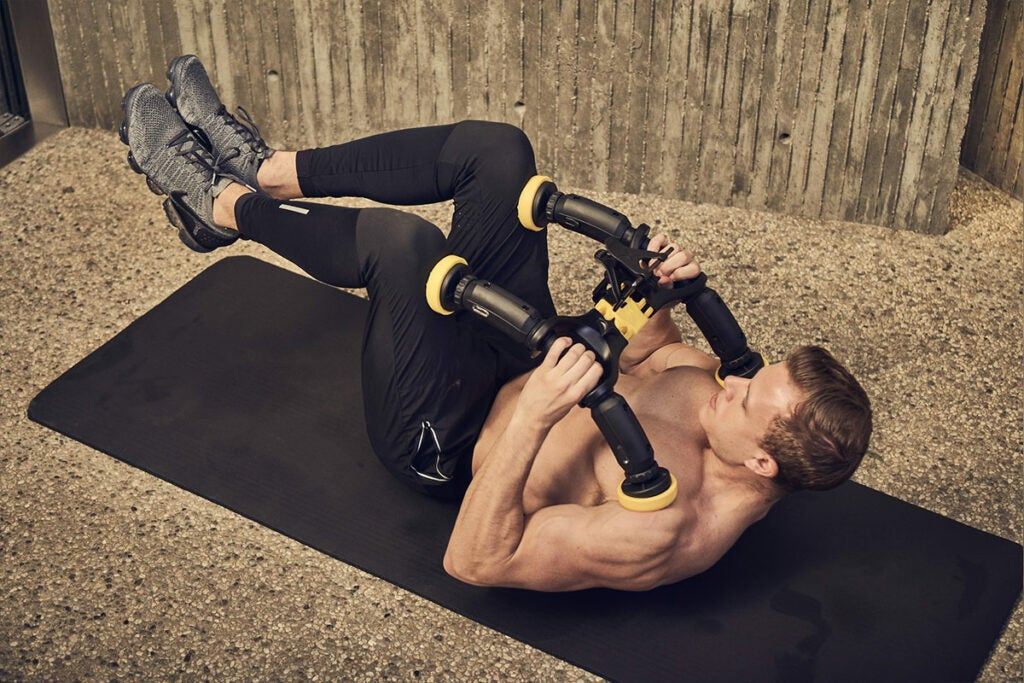ABXCORE: Ab Machine with Virtual Trainer + Phone Cradle