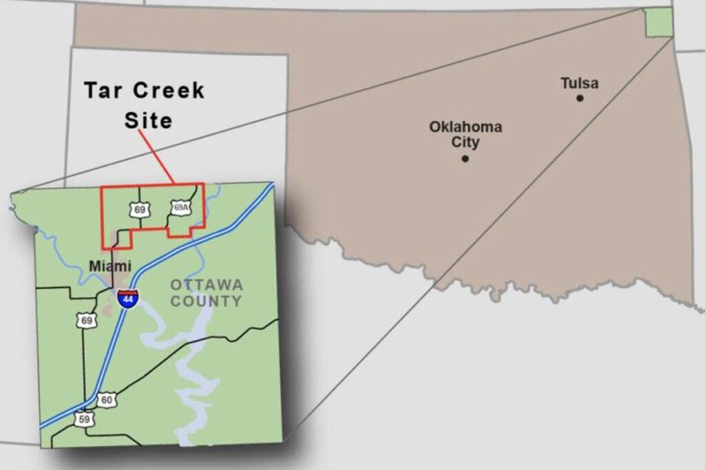 Tar Creek Superfund site