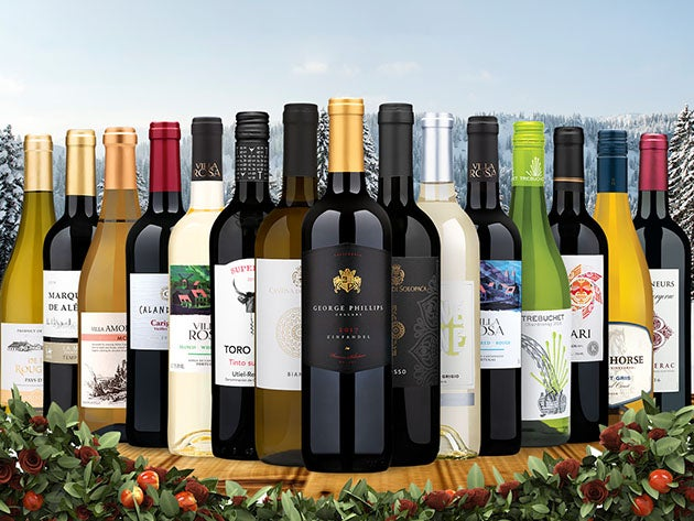 Wine Insiders: 15 Bottles of Mixed Wines for Only $85