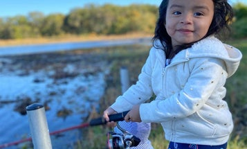 The happiness and heartbreak of a daughter's first fishing trip