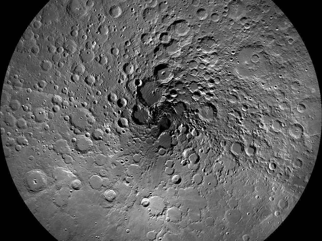 The moon's surface is a chaotic mess of craters of all sizes. Now algorithms are smart enough and kind enough to sort through that mess for us.