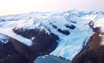 Glacier-dwelling bacteria thrive on chemical energy derived from rocks and water