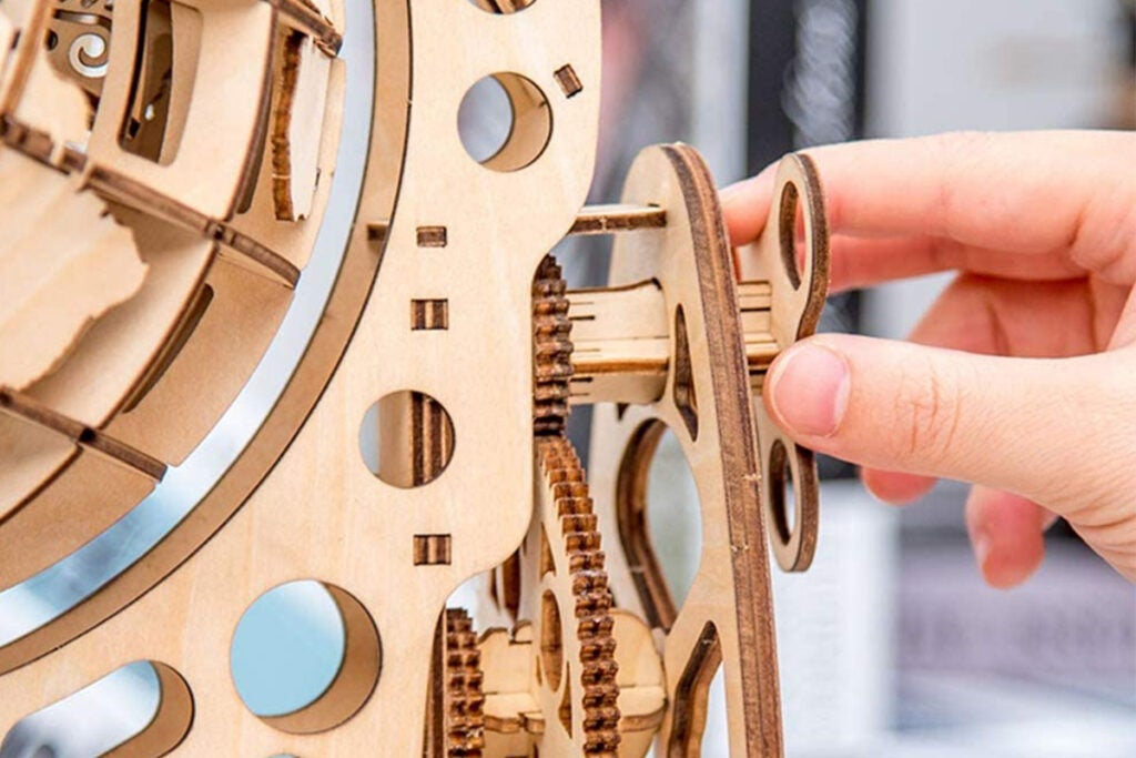 DIY 3D Wood Craft Jigsaw Puzzle Kit