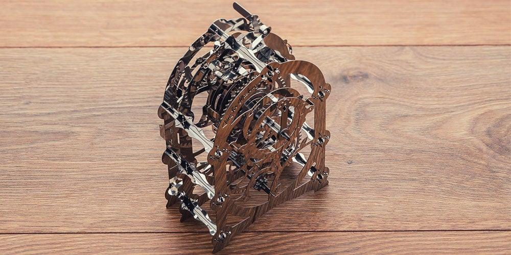 Mysterious Timer Metal DIY Model Kit