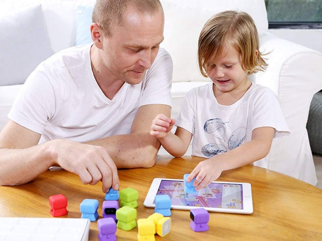 Tangiplay: Tangible Coding Toys + Interactive Puzzles
