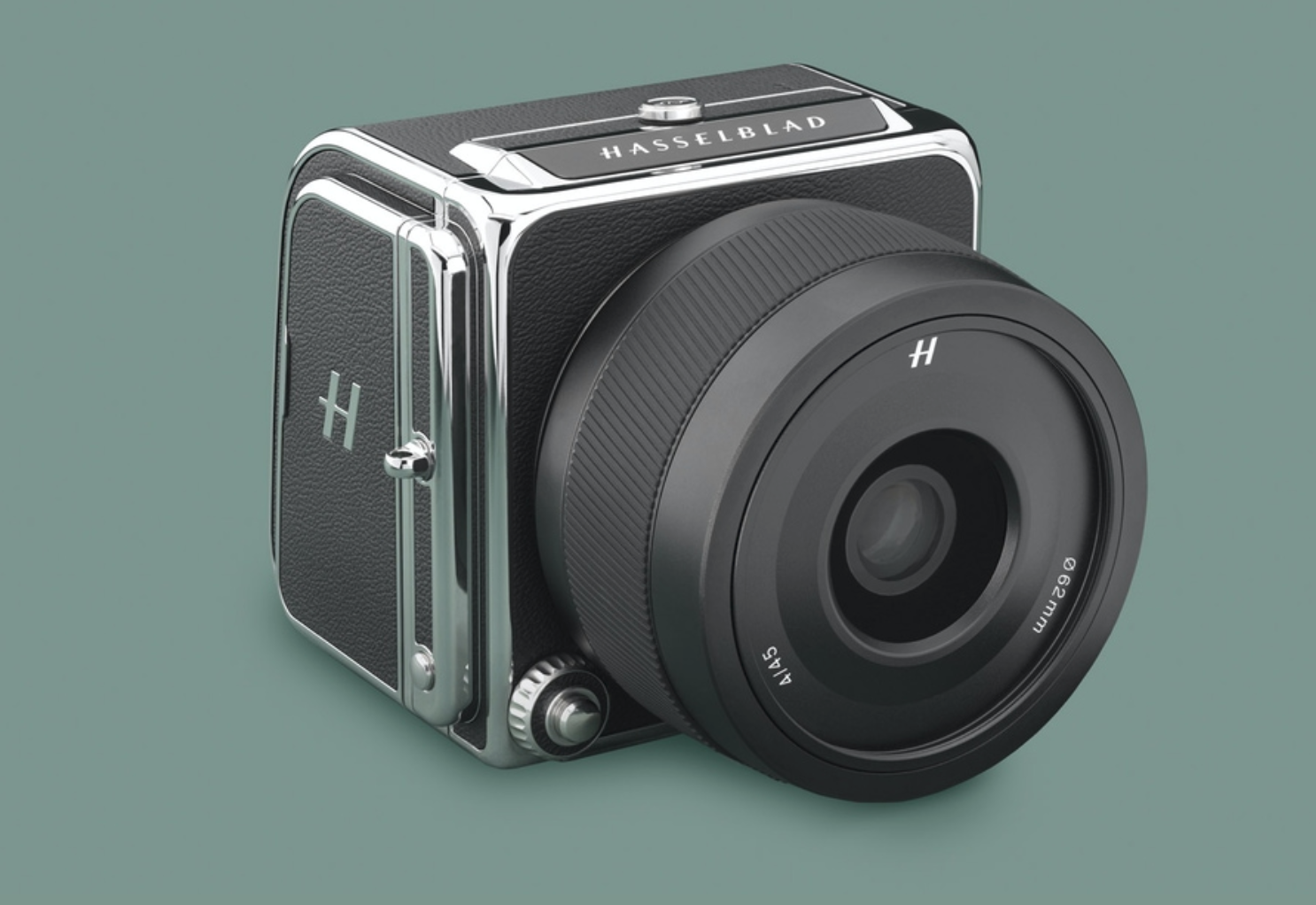 Hasselblad 907X 50C camera on green