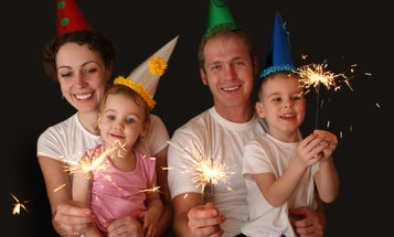 Make your own New Year's ball, and 4 other family party ideas