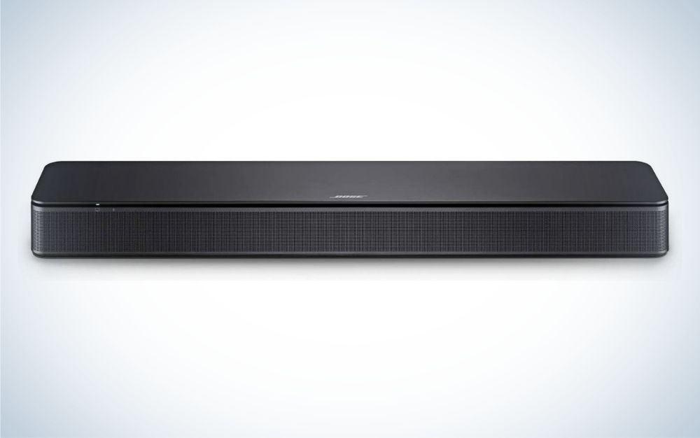 Small black Bose tv sound bar