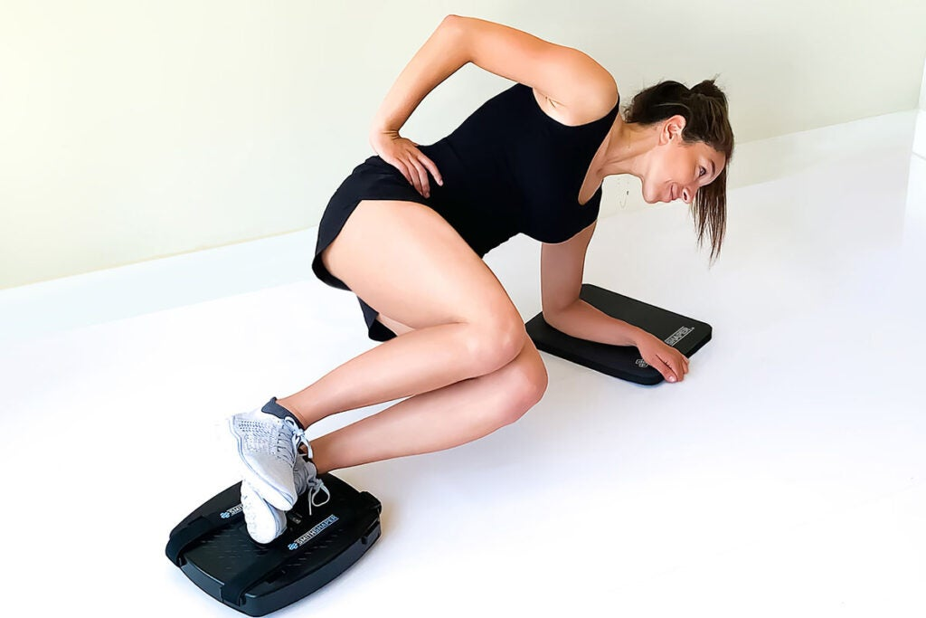 SmithShaper® PRO Ab Squat Rider with 25 Exercises & Knee Mat