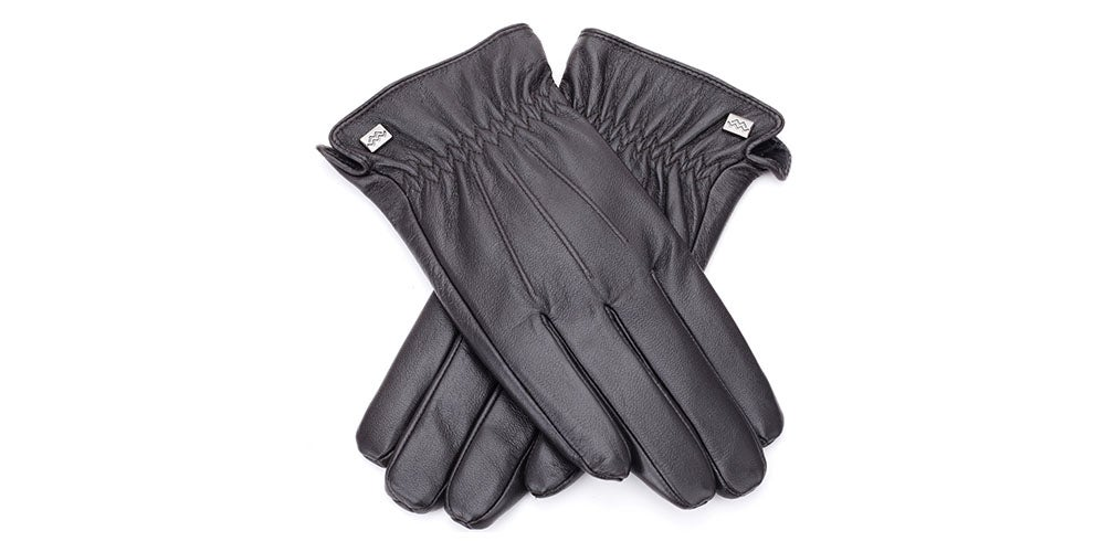Cold-Weather Leather Gloves