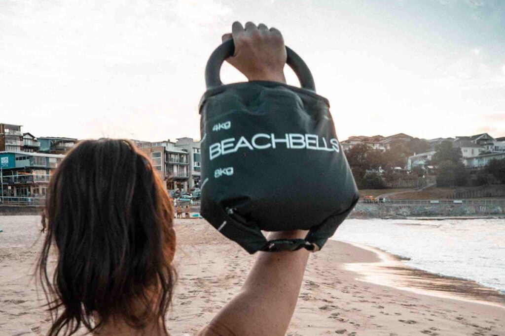 BEACHBELL: Multi-Weight Portable Kettlebell