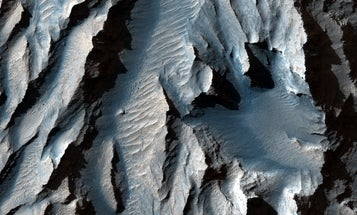 Peer inside the solar system's largest canyon