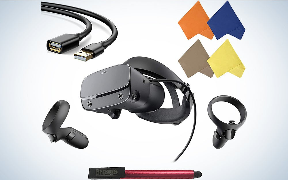 Oculus Rift S PC-Powered VR Gaming Headset and accessories