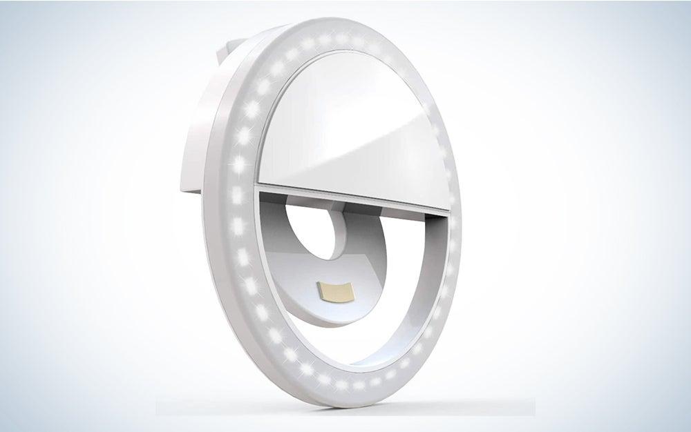 Auxiwa Clip on Selfie Ring Light