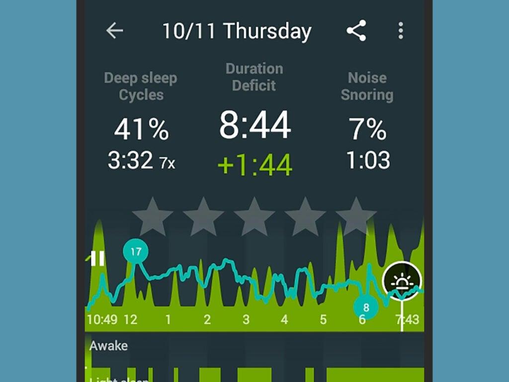 تطبيقات النوم