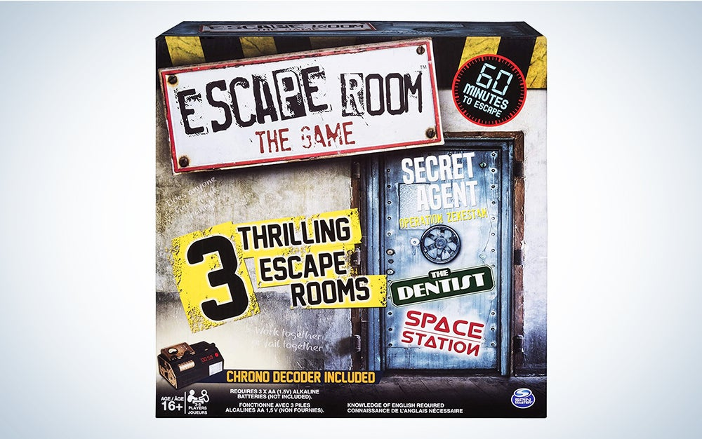 Escape Room The Game with 3 Thrilling Escape Rooms to Play, for Ages 16 and Up