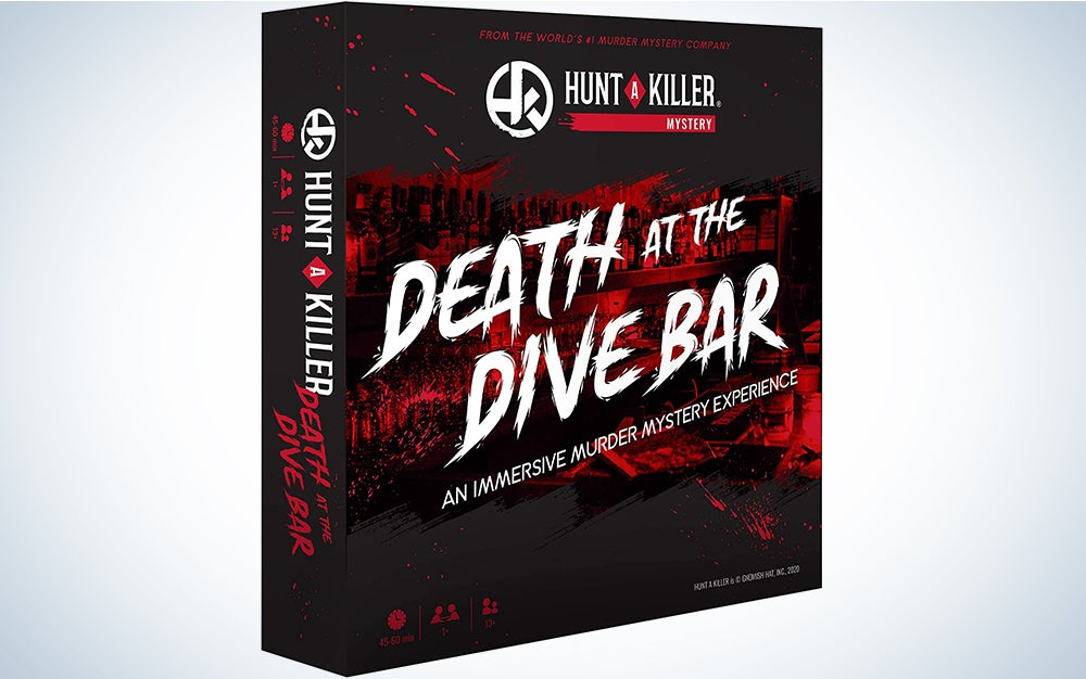Hunt A Killer Death at The Dive Bar, Immersive Murder Mystery Game -Take on the Unsolved Case as an Independent Challenge