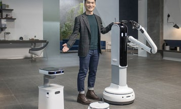 Samsung's new robots will do the dishes and nag you to get offline