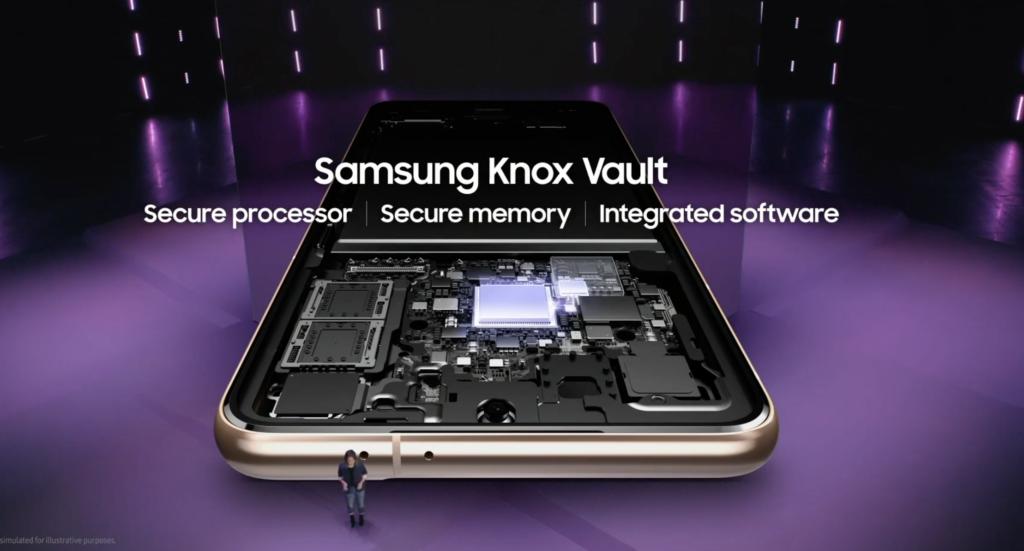 Galaxy S21 Knox Vault security tech