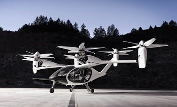 These new flying taxis offer a glimpse at our future commutes