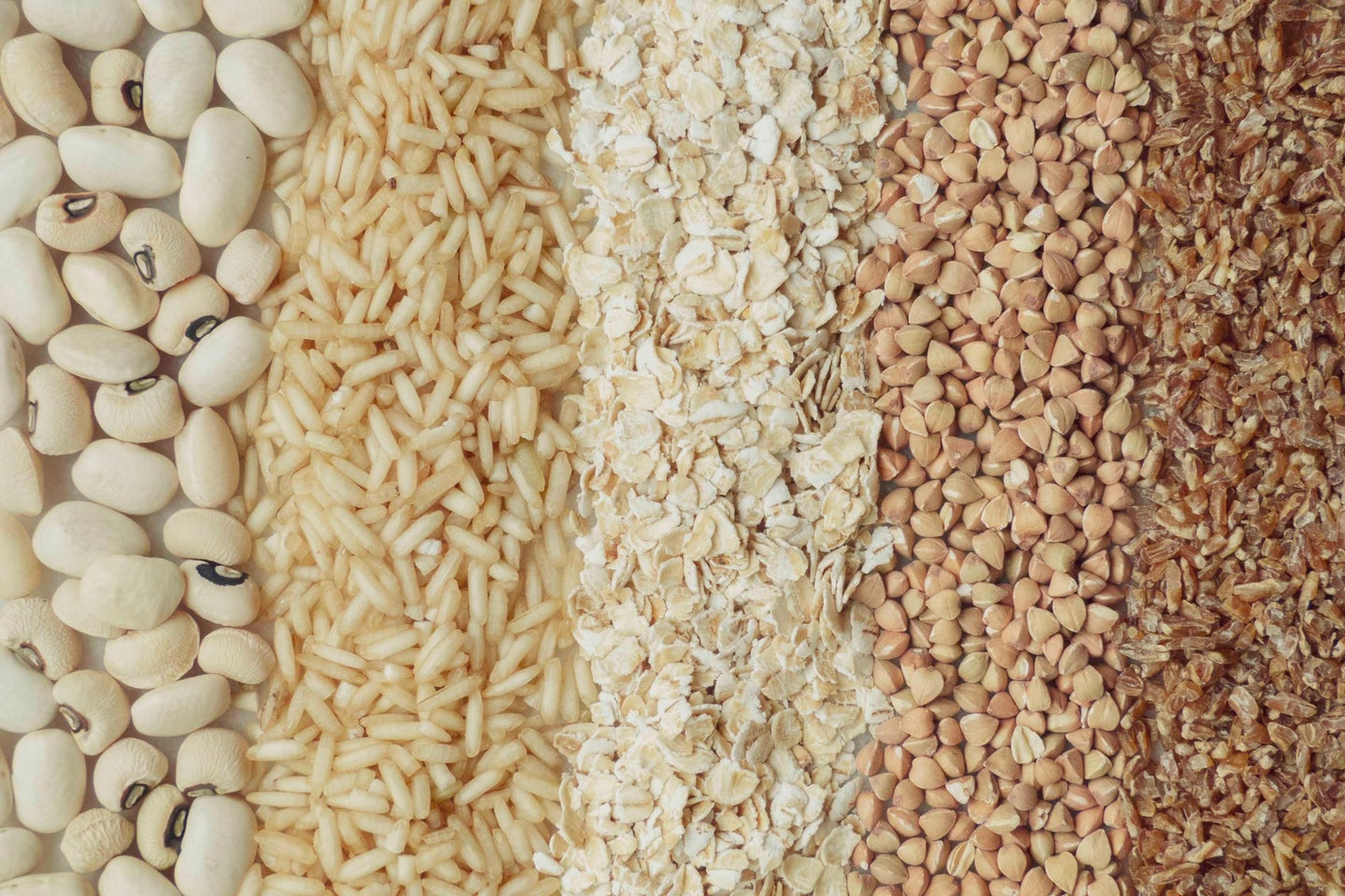legumes and whole grains