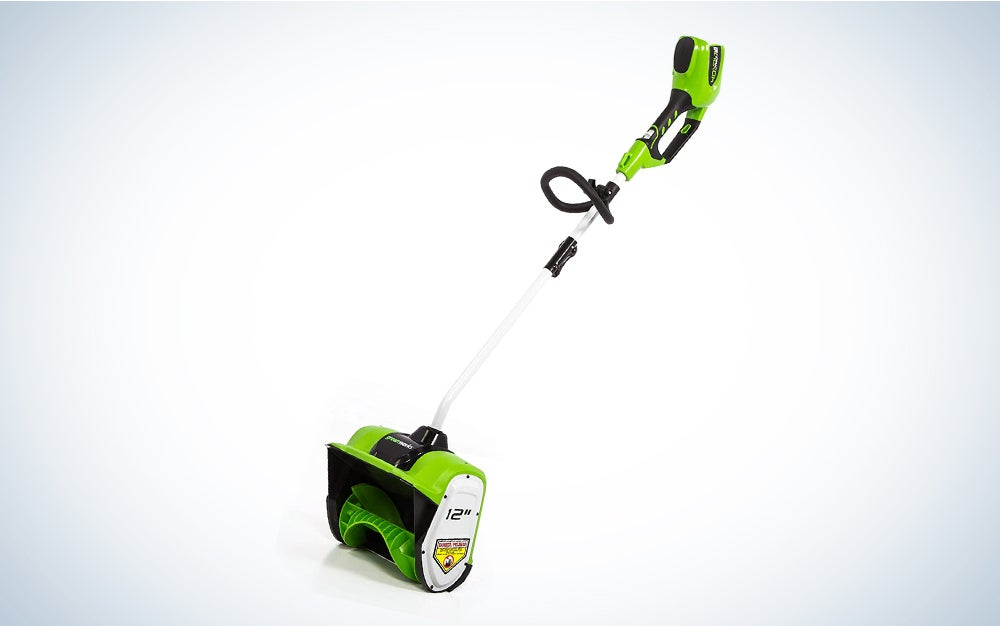 Greenworks 12-Inch 40V Cordless Snow Shovel