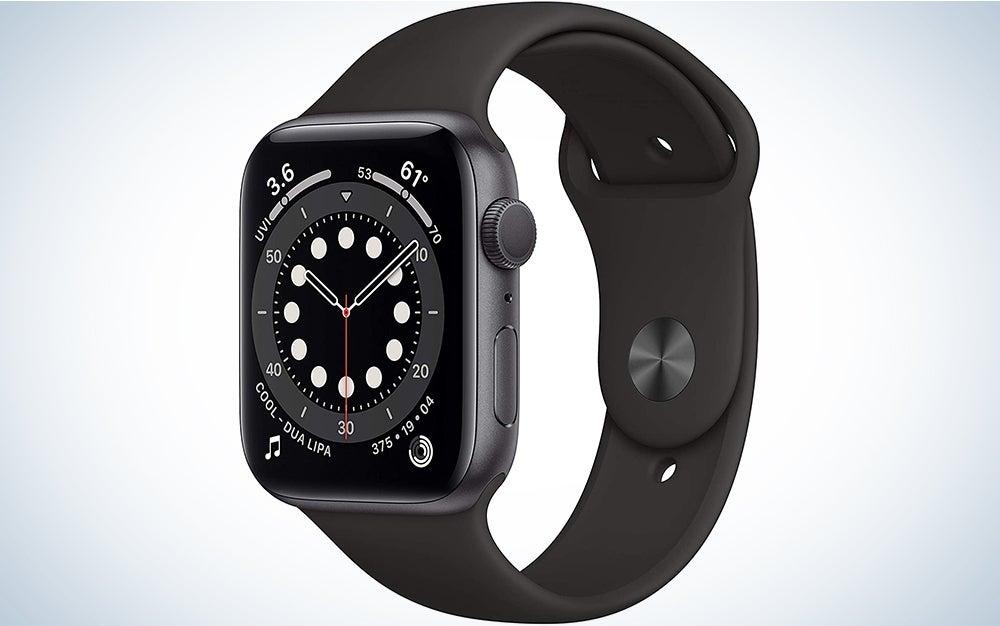Apple Watch Series 6 (GPS, 40mm) - Blue Aluminum Case with Deep Navy Sport Band
