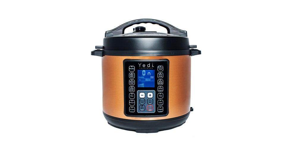 Yedi 9-in-1 Total Package Instant Programmable 6-Quart Pressure Cooker
