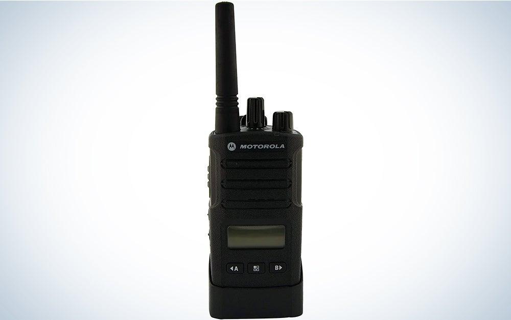 Motorola RMU2080D On-Site 8 Channel UHF Rugged Two-Way Business Radio with Display and NOAA (Black)