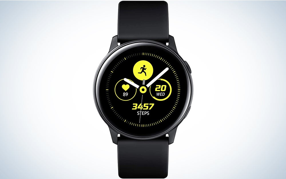 Samsung Galaxy Watch Active (40MM, GPS, Bluetooth ) Smart Watch with Fitness Tracking, and Sleep Analysis - Black