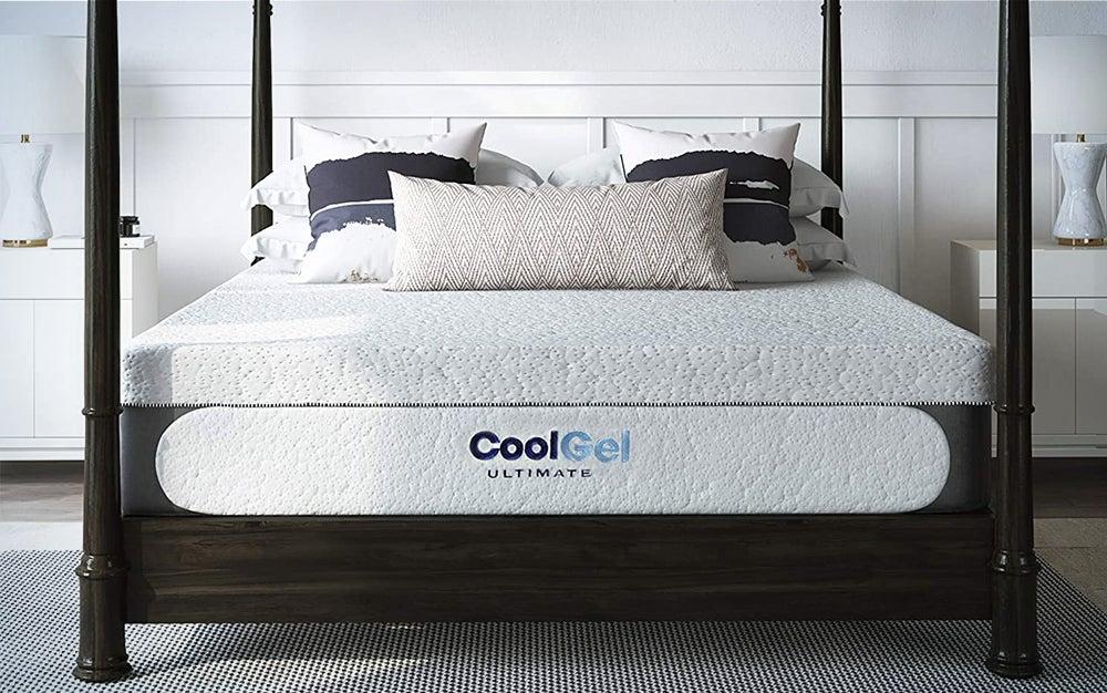 Classic Brands Cool Gel Memory Foam 14-Inch Mattress
