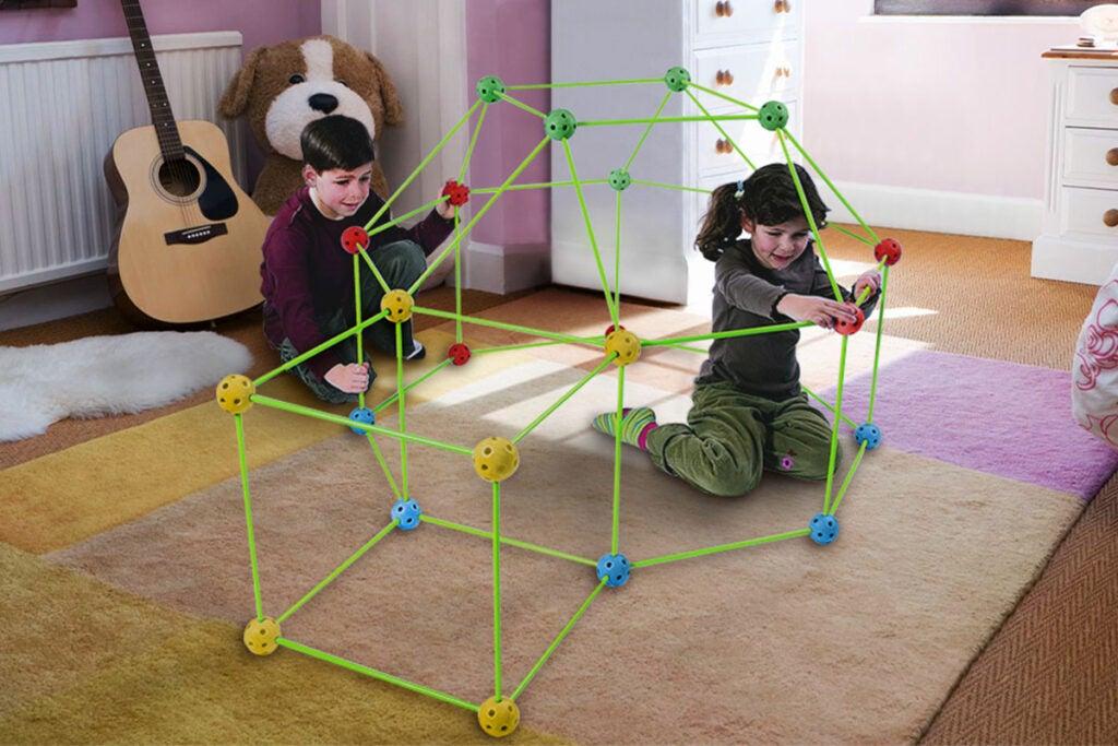 Kid's Build Your Own Den Kit