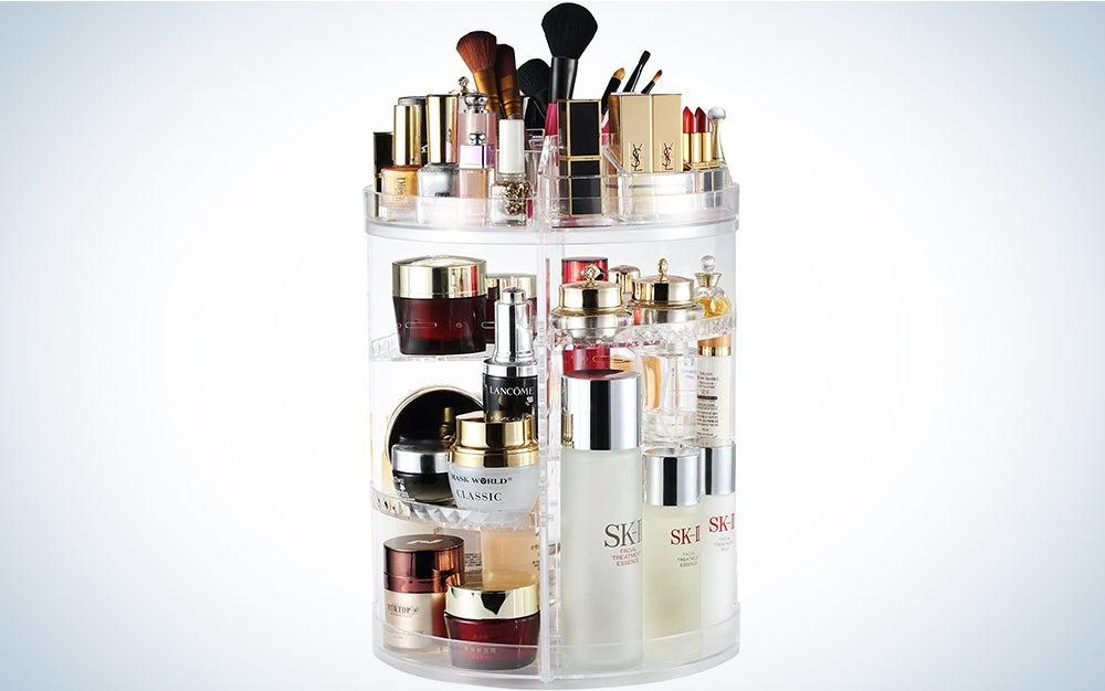 360 Degree Makeup Organizer
